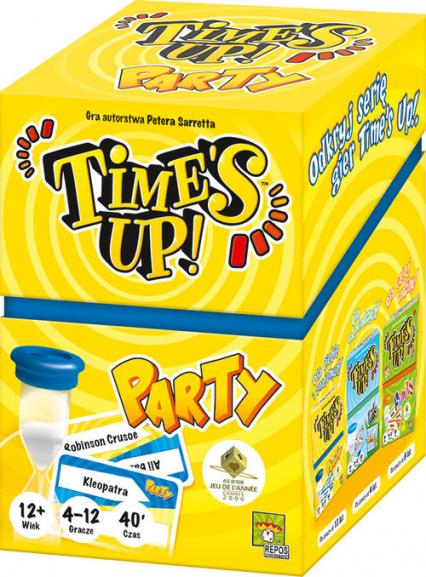 Time's Up: Party - Peter Sarrett | okładka