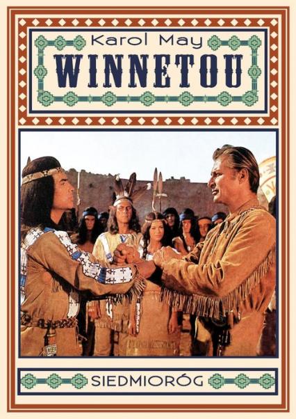 Winnetou - Karol May | okładka