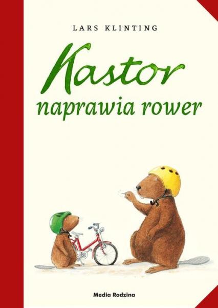 Kastor naprawia rower - Lars Klinting | okładka