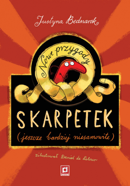 Nowe przygody skarpetek (jeszcze bardziej niesamowite) - Justyna Bednarek | okładka