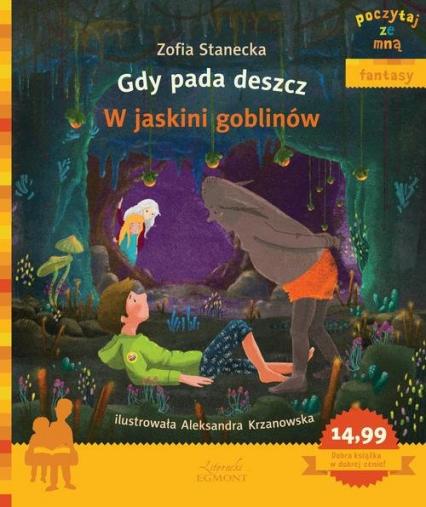 Gdy pada deszcz W jaskini goblinów - Zofia Stanecka | okładka