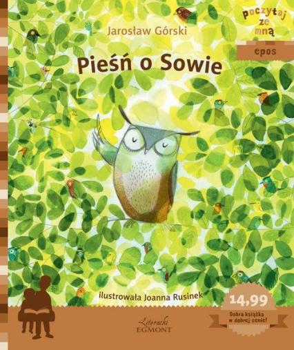 Pieśń o Sowie - Jarosław Górski | okładka