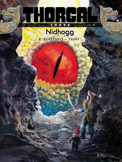 Thorgal Louve Nidhogg Tom 7 - Yann Yann, Surżenko Roman   okładka
