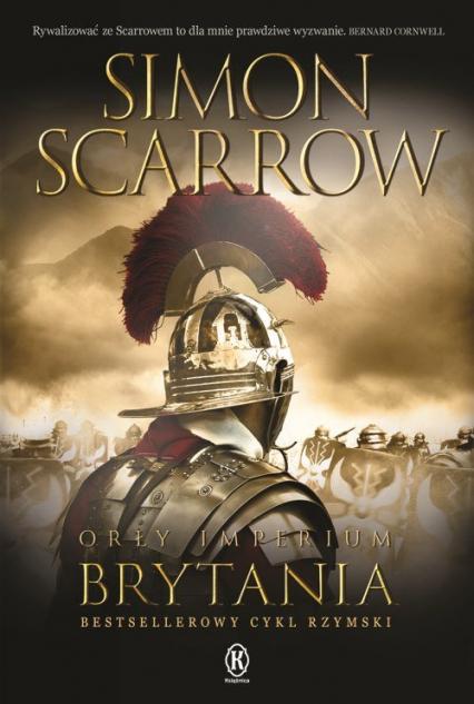 Orły imperium 14 Brytania - Simon Scarrow | okładka