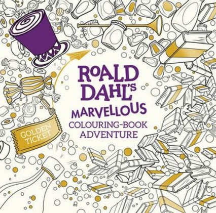 Roald Dahl's Marvellous Colouring-Book Adventure - Roald Dahl | okładka