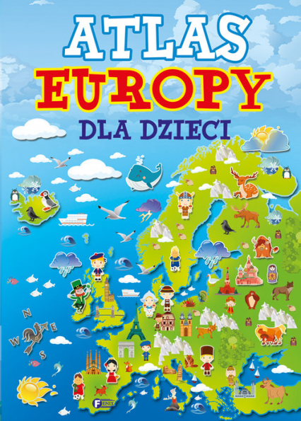 Atlas Europy dla dzieci -  | okładka