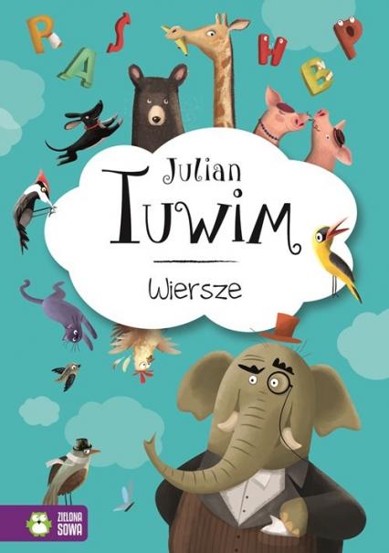 Julian Tuwim Wiersze - Julian Tuwim | okładka