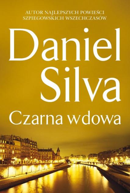 Czarna wdowa - Daniel Silva | okładka