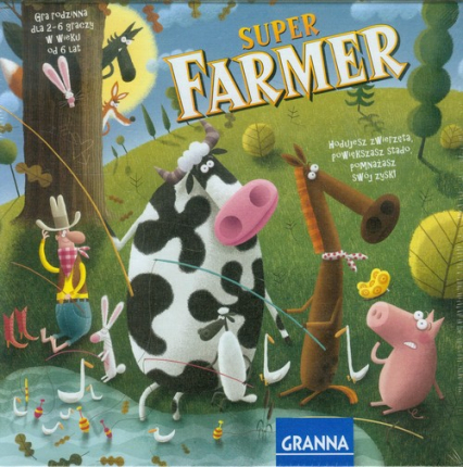 Superfarmer z Rancha -    okładka