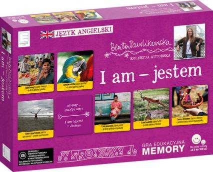 Edukacyjne memory  językowe I am jestem - Beata Pawlikowska   okładka