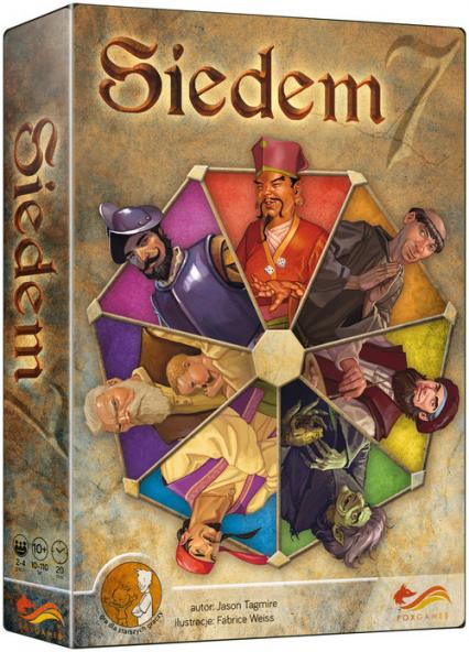 Siedem Gra planszowa - Jason Tagmire   okładka