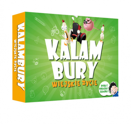 Kalambury Wiejskie Życie/Kangur - zbiorowa Praca | okładka
