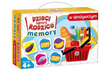 Dzieci kontra rodzice. Memory w spożywczym - zbiorowa Praca | okładka