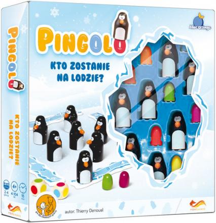 Pingolo Gra planszowa - Thierry Denoual | okładka