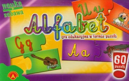 Alfabet puzzle -  | okładka
