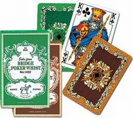 Karty do gry Piatnik 1 talia Liście dębu -  | okładka