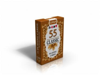 Karty do gry Classic 55 listków - zbiorowa Praca | okładka