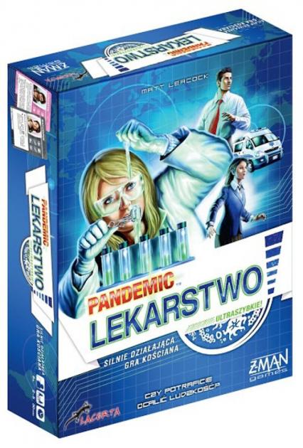 Pandemic Lekarstwo - Leacock Matt, Lehmann Tom | okładka