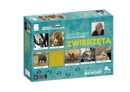 Gra edukacyjna memory - Zwierzęta - Jacek Bonecki | okładka