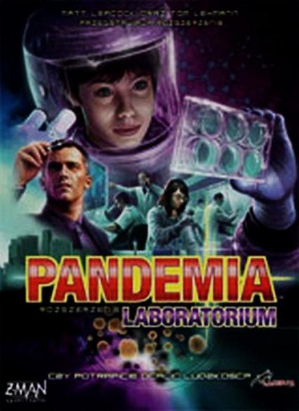 Pandemia Laboratorium - Leacock Matt, Lehmann Tom | okładka