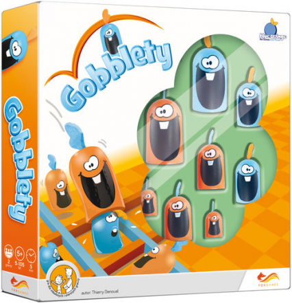 Gobblety Gra - Thierry Denoual | okładka