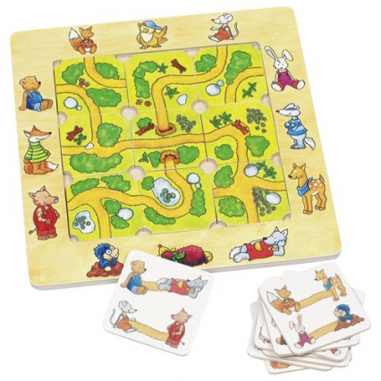 Znajdź drogę Puzzle supełki -    okładka