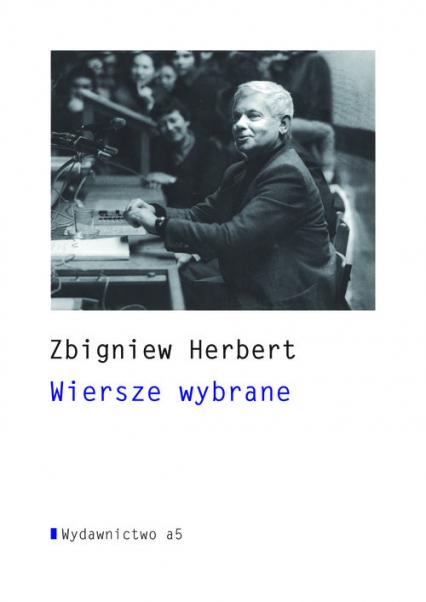 Wiersze wybrane+ CD - Zbigniew Herbert   okładka