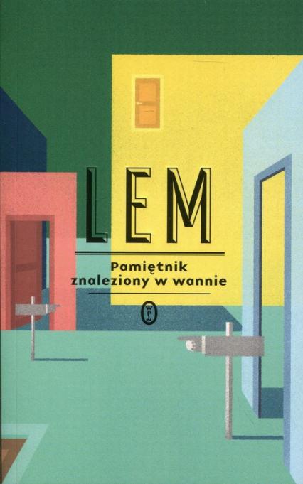Pamiętnik znaleziony w wannie - Stanisław Lem | okładka