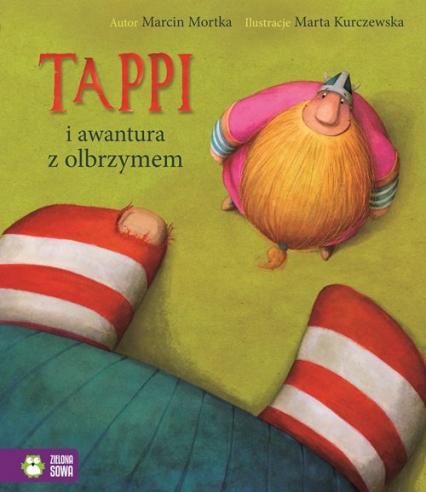 Tappi i awantura z olbrzymem - Marcin Mortka   okładka