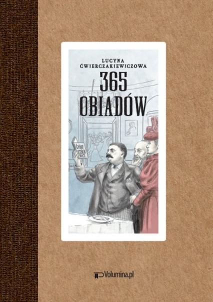 365 obiadów - Lucyna Ćwierczakiewiczowa | okładka