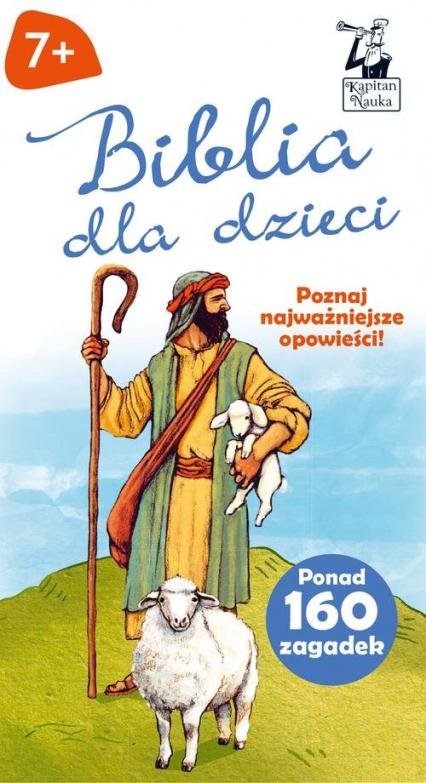 Biblia dla dzieci Opowieści + zagadki - Paweł Czapczyk | okładka