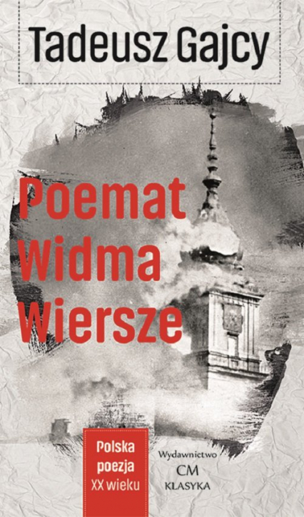Poemat Widma Wiersze - Tadeusz Gajcy   okładka