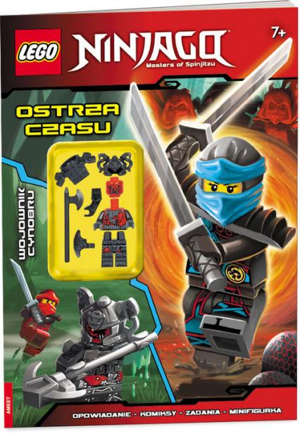Lego Ninjago Ostrza czasu LNC-12 - zbiorowe opracowanie | okładka
