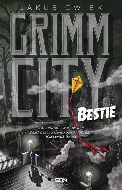 Grimm City Bestie - Jakub Ćwiek | okładka