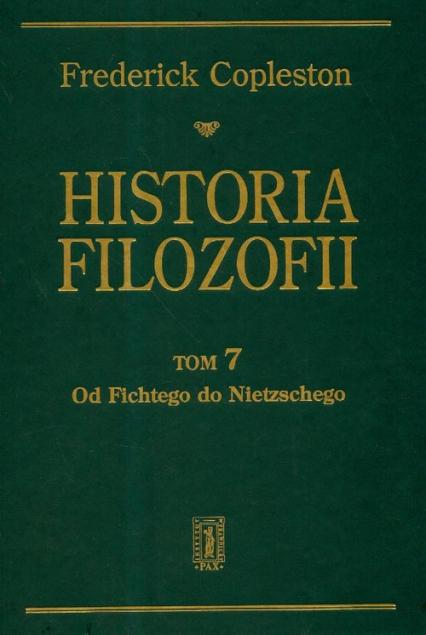 Historia filozofii Tom 7 - Frederick Copleston | okładka