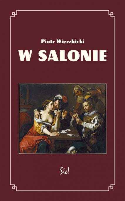 W salonie - Piotr Wierzbicki | okładka