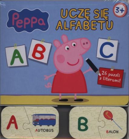 Świnka Peppa Uczę się alfabetu -  | okładka