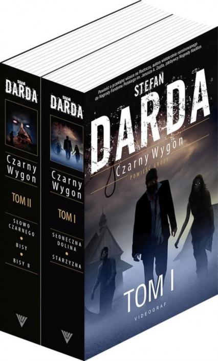 Czarny Wygon Pakiet - Stefan Darda | okładka