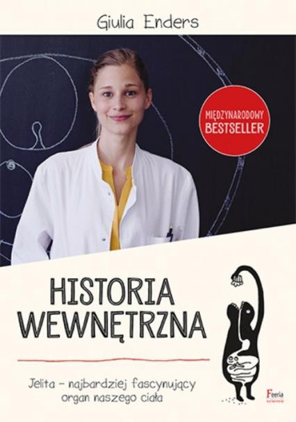 Historia wewnętrzna - Giulia Enders | okładka
