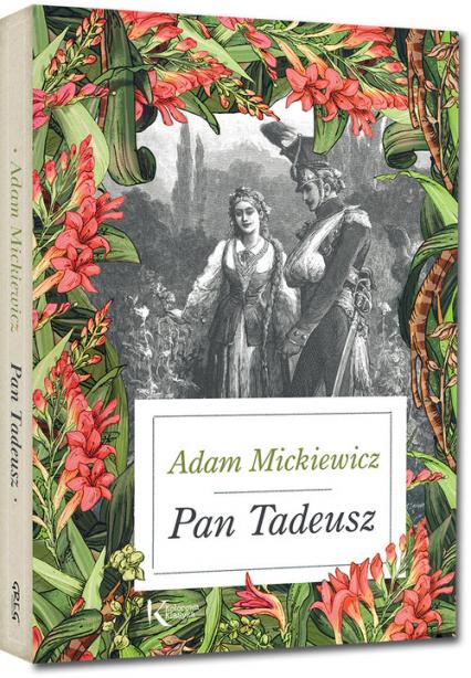 Pan Tadeusz - Adam Mickiewicz   okładka