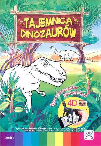 Tajemnica dinozaurów - zbiorowa Praca | okładka