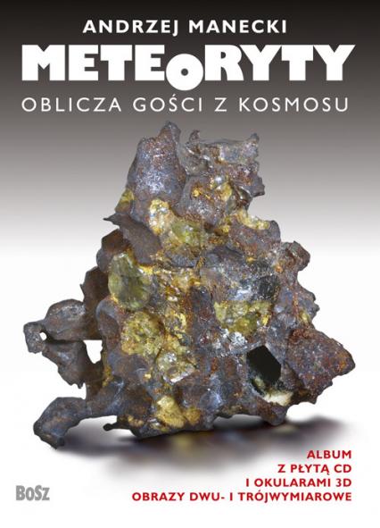 Meteoryty Oblicza gości z kosmosu - Andrzej Manecki   okładka