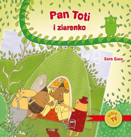 Pan Toti i ziarenko -  | okładka