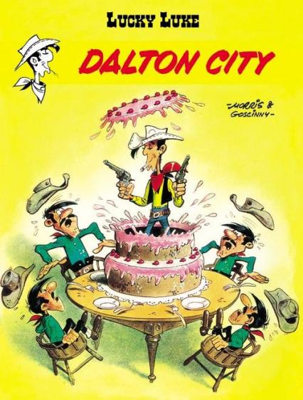 Lucky Luke Dalton City - Gościnny René, de Bevere Maurice   okładka