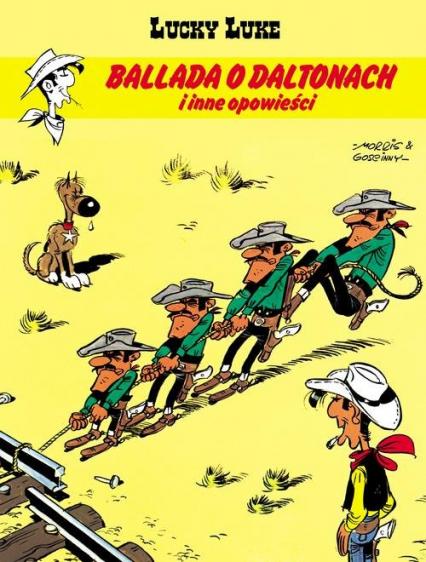 Lucky Luke Ballada o Daltonach i inne opowieści - Gościnny René, de Bevere Maurice, Greg Michela, de Bevere Maurice | okładka