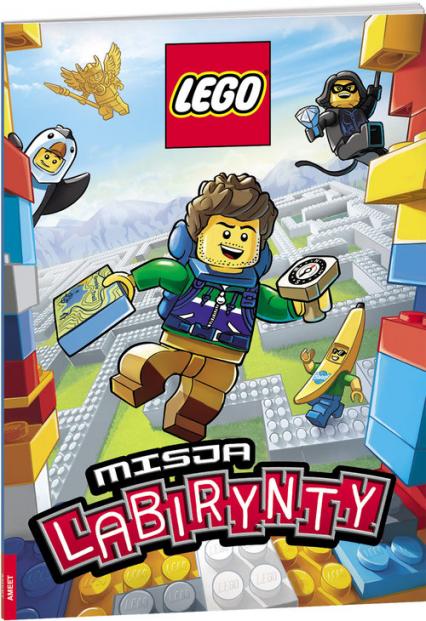 Lego Misja labirynty / LMA1 LMA-1 - zbiorowe opracowanie | okładka