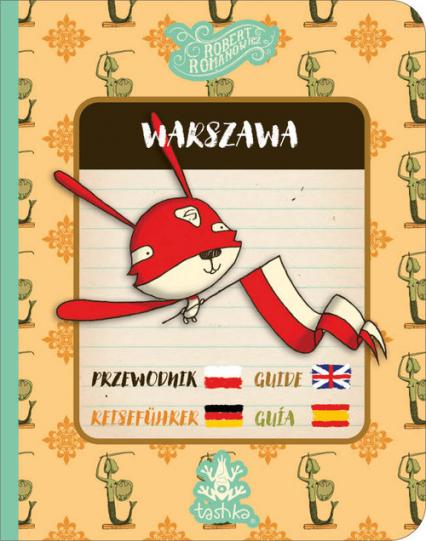 Przewodnik Warszawa - Robert Romanowicz | okładka