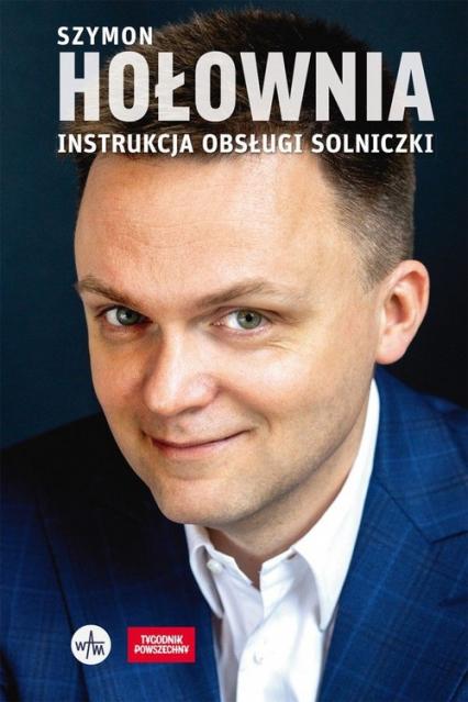Instrukcja obsługi solniczki - Szymon Hołownia | okładka