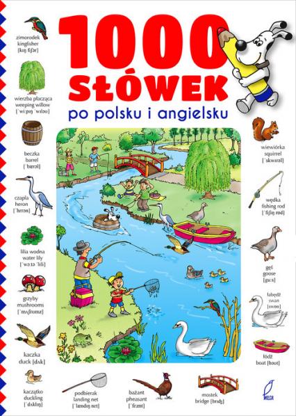 1000 słówek po polsku i angielsku -    okładka