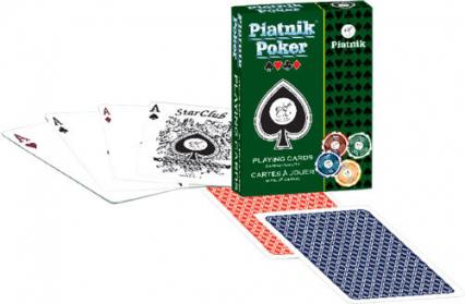 Karty do gry Piatnik 1 talia, Piatnik Poker -  | okładka